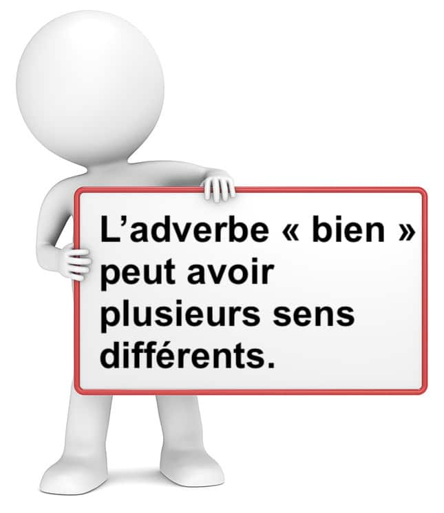 L' adverbe bien