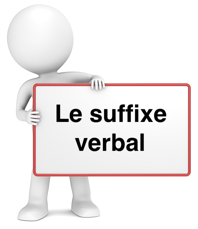 Le suffixe verbal