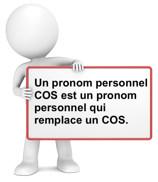 Le pronom personnel COS